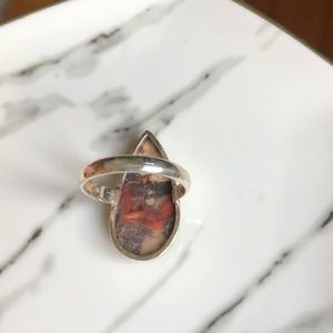 Jewelry - Ring Mexican Bird Eye Sterling Silver